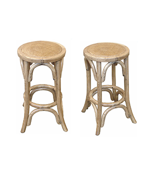 Oak breakfast stool
