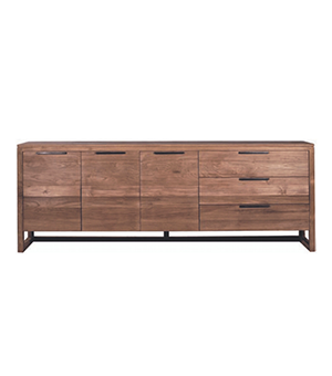 Light frame sideboard