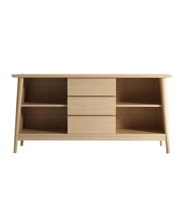 vintage open sideboard. Black Bedroom Furniture Sets. Home Design Ideas