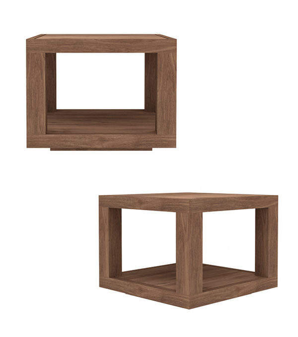 Duplex side table