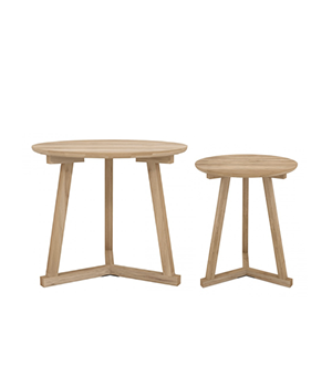 Tripod side tables